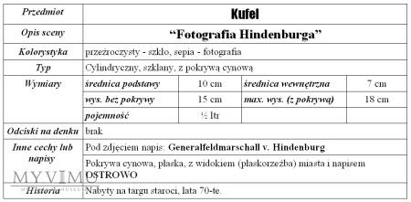 "Kufel ""Hindenburg"""