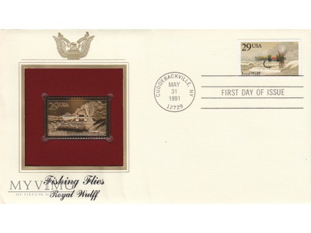 Duże zdjęcie USA 1991 - FDC złote