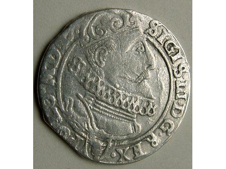 Szóstak mennica Kraków- 1625 r-bardzo rzadka