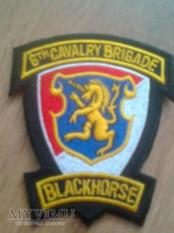 Naszywka 6 Brygady Kawalerii (amerykańska)