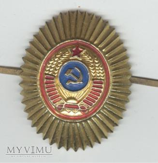 Emblemat na czapkę ZSRR 22