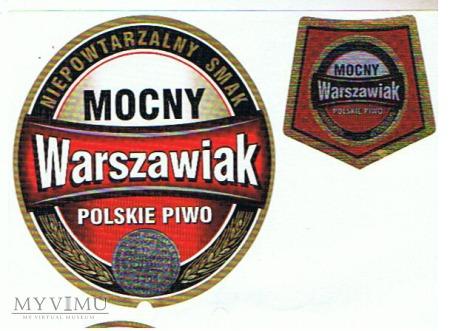 mocny warszawiak polskie piwo