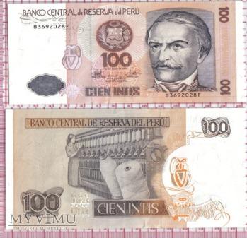 100 cien intis- Peru