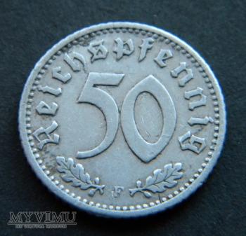 Duże zdjęcie 50 Reichspfennig 1935