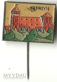 Kętrzyn - zamek - znaczek