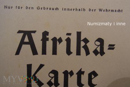 poufna mapa Afryki 1941