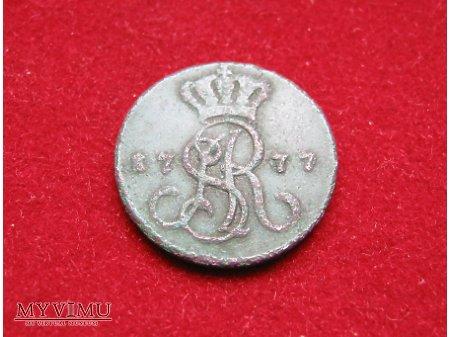 Grosz koronny SAR 1777