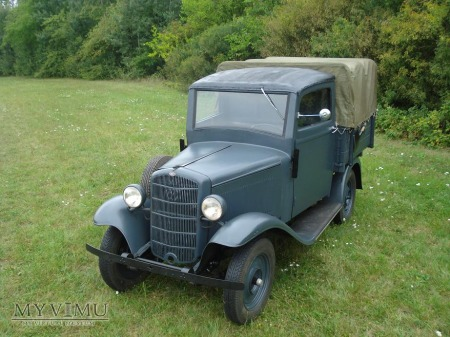 Opel P4 pick-up, 1936 r. Unikat!!!