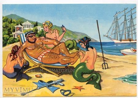 Syreny i bóg morza