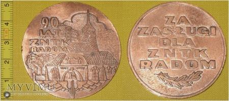 Medal kolejowy - firmowy ZNTK Radom