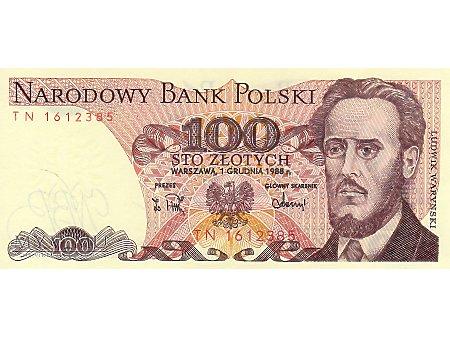 100 Złotych 01.12.1988 r.