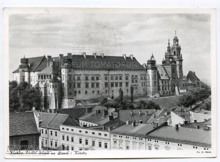 Kraków - Wawel od północy- lata 50/60-te