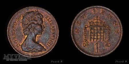 Anglia - 1980 - 1 penny