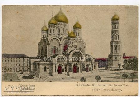 W-wa - Cerkiew św. Aleksandra Newskiego - 1915