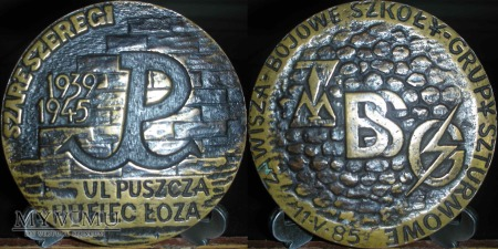 145. Szare Szeregi. Ul - Puszcza. Hufiec - Łoża