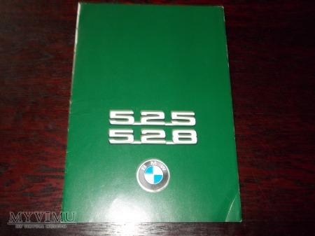 Prospekt BMW 525,528 (E12)