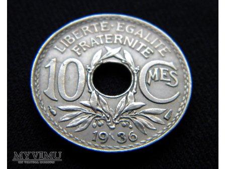 10 centimes 1936