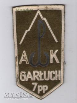 Emblemat kombatancki AK GARŁUCH 7PP