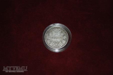 1 marka 1887 Ag A
