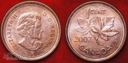 Duże zdjęcie Kanada, 1 CENT 2007