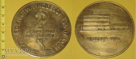 Duże zdjęcie Medal kolejowy - usługowy Szpitala Kol. w Lublinie
