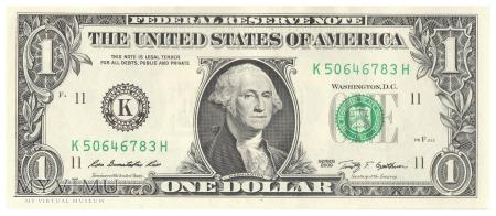 Stany Zjednoczone - 1 dolar (2009)