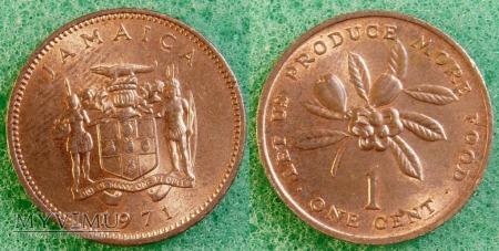 Jamajka, 1 CENT 1971