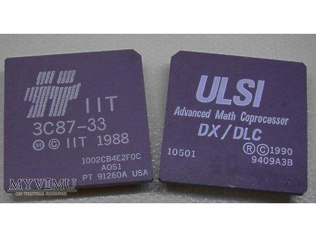 Duże zdjęcie Koprocesory 80387