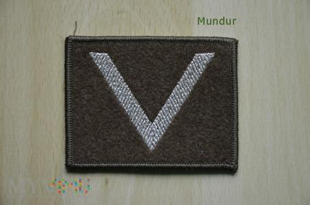 Oznaka stopnia - sierżant SG