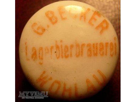 Duże zdjęcie Wohlau - G.Becker Lagerbierbraueri