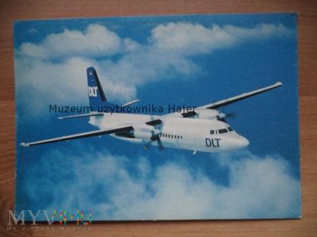 Duże zdjęcie Kartka pocztowa samolot