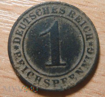 1 Pfenning 1936 Niemcy A