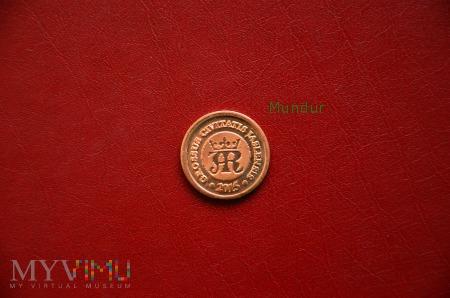 Moneta kolekcjonerska - grosz jasielski - mosiądz