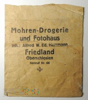 Papierowe opakowanie Mohren Drogerie Friedland