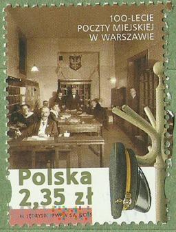 Poczta Miejska w Warszawie.