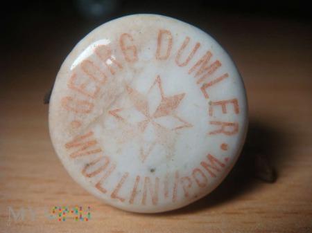 porcelanowy korek Georg Dumler, Wollin/Pom
