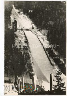 Zakopane. Duża skocznia na Krokwi - 1960