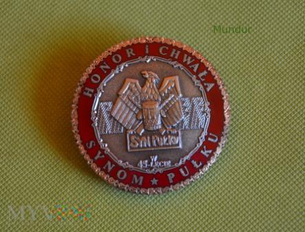 Odznaka HONOR I CHWAŁA SYNON PUŁKU