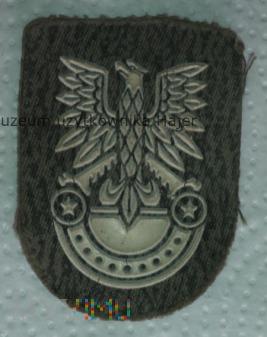 Orzełek z rogatywki żołnierza LWP