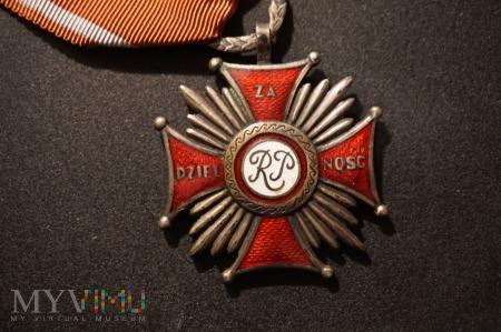 Duże zdjęcie Krzyż Za Dzielność - numerowany Nr:33