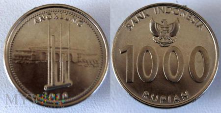 Indonezja, 1000 RUPIAH 2010