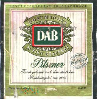 Dortmunder, DAB, Pilsener
