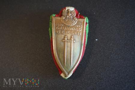 Odznaka Grunwaldzka z podkładką wstążki KG