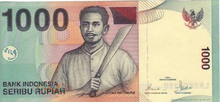 INDONEZJA 1000 RUPII 2000