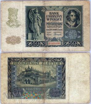 50 zł 1940r.