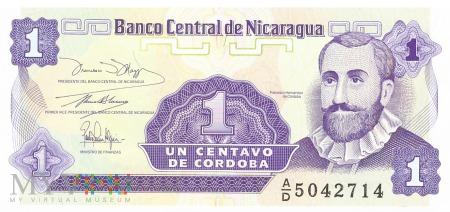 Nikaragua - 1 centavo (1991)