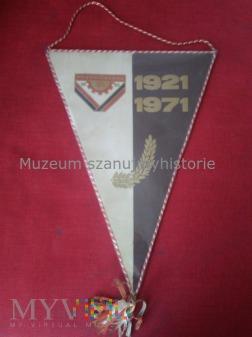 Duże zdjęcie proporczyk Prądniczanka Kraków 1921-1971