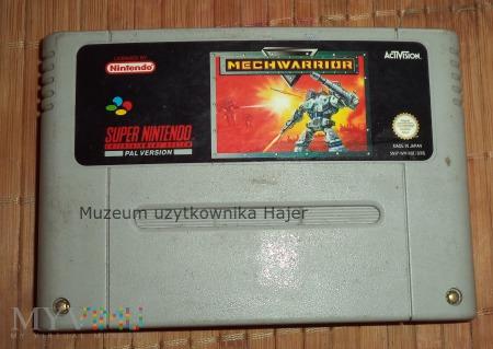 Mechwarrior - kartridż SNES Nintendo