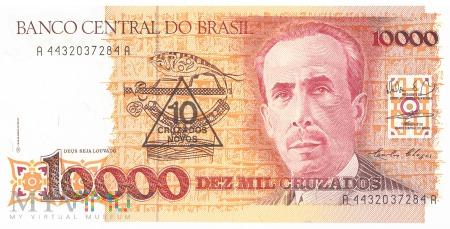 Brazylia - 10 cruzados novos (1990)