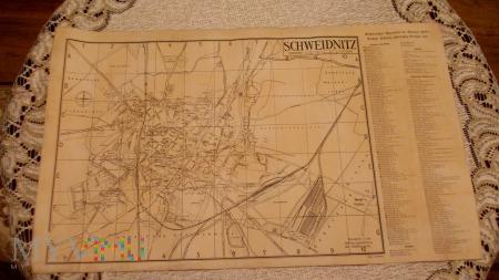 Mapa - Schweidnitz